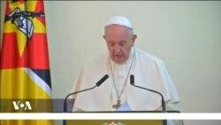 Le Pape François au Mozambique