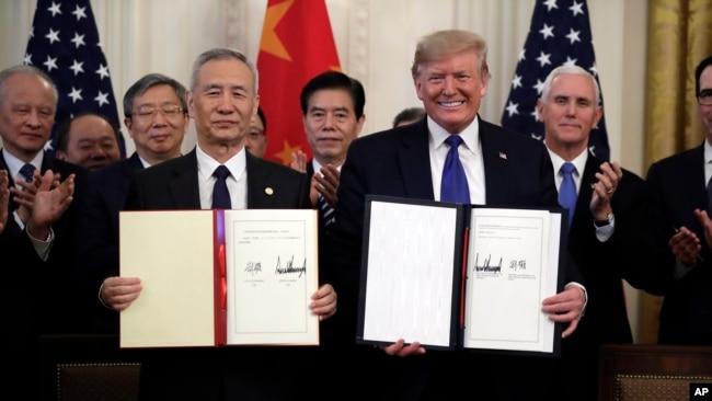 美中第一阶段贸易协议面临批评 第二阶段能否启动存疑