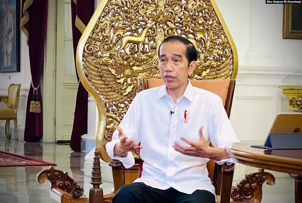 Presiden Jokowi memutuskan untuk menggratiskan vaksin Covid-19