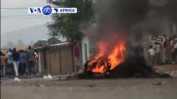 VOA60 Afirka: An Cigaba Da Zanga-Zanga A Burunjuma, Burundi, Mayu 25, 2015