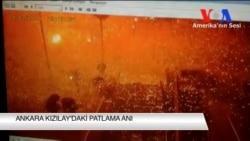 Ankara Kızılay'da Patlama Anı