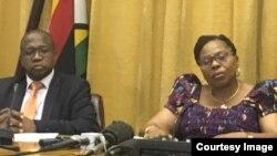 VaMthuli Ncube naAmai Monica Mutsvangwa