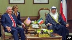 Rex Tillerson recebido pelo vice-primeiro-ministro do Kuwait