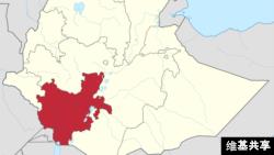 Oromiya, eneo la kusini la Ethiopia