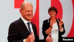 SPD'nin başbakan adayı Olaf Scholz