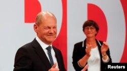 德国社民党以微弱优势赢得2021年9月26日联邦议院选举(路透社)