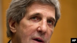 Senate Foreign Relations Committee Chairman Sen. John Kerry, D-Mass. (file photo).