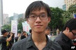 香港學生總會副主席張秀賢