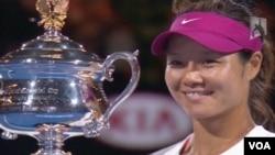 Ngôi sao quần vợt Lý Na của Trung Quốc