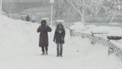EE.UU. frio congelante
