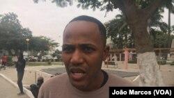 Émerson Marcos, activista cumpriu um mês de cadeia