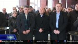 Shkodra përkujton demostratën për rrëzimin e busit të Stalinit