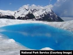 Wrangell-St. Elias National Park glacier