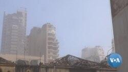 Beirut Wakes Up to Scenes of Devastation