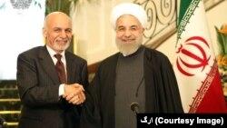 روسای جمهور افغانستان و ایران همچنان بر تقویت روابط و همکاری ها میان دو کشور تاکید ورزیدند