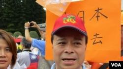 親民黨副秘書長劉文雄 (美國之音記者 張永泰拍攝)