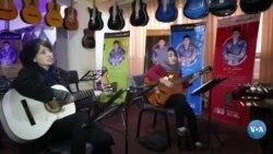 Afg'oniston: Havaskor gitarachi qizlar