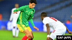 La Guinée a joué la Mauritanie, le 21 janvier 2018.