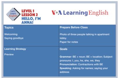 teacher learning the lesson 2
