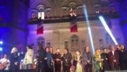 """اجرای تصنیف """"سپیده"""" توسط گروه پالت در هجدهمین جشن خانه سینما"""