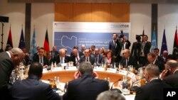 Konferensi Keamanan di Munich, Jerman, Minggu (16/2).