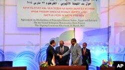 三國領導人在喀土穆簽署了協議