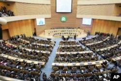Sala magna de reuniões da União Africana