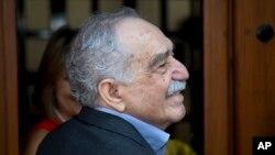 Penulis Kolombia Gabriel Garcia Marquez pada 6 Maret 2014.