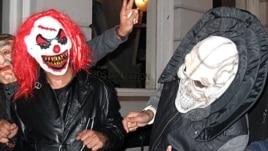Halloween night in the Georgetown area of Washington, D.C.