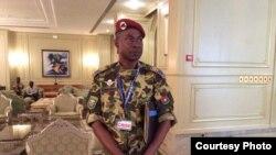 Brigedia jenerali Gilbert Diendéré wa Burkina Faso