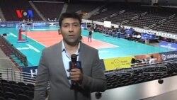 تیم ملی والیبال ایران برای دیدار با تیم آمریکا در لس آنجلس آماده می شود
