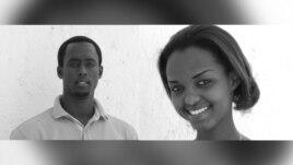 Jean Francois Regis Hakizumukama and Joyeuse Clarissa Kaze of Seraphim's Songs Gospel Group