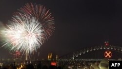 Dünya Yeni Yılı Kutluyor