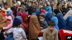 مهاجران افغان در پاکستان (عکس از آرشیف)