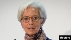hristine Lagarde, directrice générale du FMI