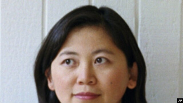 Chinese-born writer Yiyun Li, who has just been awarded a prestigious fellowship from the MacArthur Foundation.