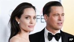 Angelina Jolie et Brad Pitt, Los Angeles, 5 novembre 2015