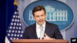 白宮發言人歐內斯特資料照。