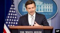 جاش ارنست گفت که ایران بارها نگرانی های جامعه جهانی در باره برنامه راکتی اشرا تشدید کرده است