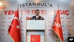 CHP İstanbul Büyükşehir Belediye Başkan Adayı Ekrem İmamoğlu YSK'dan mazbatasını talep etti.