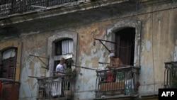 Một khu nhà trong thủ đô Havana, Cuba