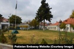 افغان دارالحکومت میں پاکستان کا سفارت خانہ — فائل فوٹو