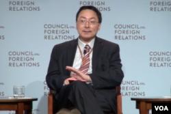 黄严忠,美国外交关系协会研究员(美国之音方冰拍摄)
