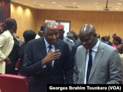 Entre le Premier ministre ivoirien et les travailleurs, l'entente est de retour, à Abidjan, en Côte d'Ivoire, le 17 août 2017. (VOA/Georges Ibrahim Tounkara)