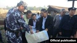 ရခိုင္စံုစမ္းေရးေကာ္မရွင္ရဲ႕ ဒုတိယအႀကိမ္ စံုစမ္းေရးခရီး (Myanmar President office)