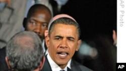 奥巴马总统承诺发展教育和创新