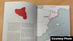រូបភាពខាងក្នុងសៀវភៅថ្មីមួយរបស់លោក Nick Middleton ដែលមានចំណងជើងថា «The Atlas of Countries that Don't Exist: A Compendium of Fifty Unrecognized and Largely Unnoticed States» (រូបភាពដោយ Nick Middleton)