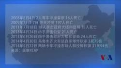 6年来新疆民族问题引发的暴力事件