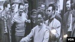 Dizzy Gillespie u Zagrebu sa Nikicom Kalođerom, 1956