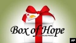 Box of Hope 캠페인 포스터